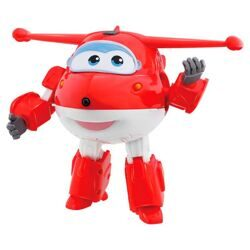 купить Super Wings Говорящий трансформер Джетт