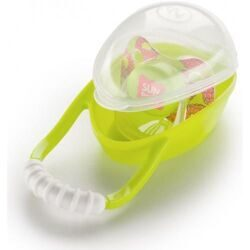 купить Контейнер Happy Baby для пустышки Pacifier container Lime