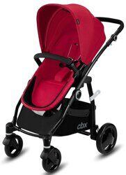 купить Коляска 2в1 CBX by Cybex Leotie Pure/Comfy Grey, Crunchy Red, Jeansy Blue, Smoky Anthracite