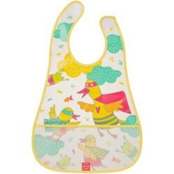 купить Нагрудник Happy Baby на липучке Waterproof Baby Bib Yellow Duck